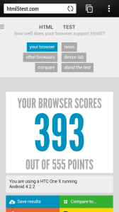 Стандартный интернет-браузер Android