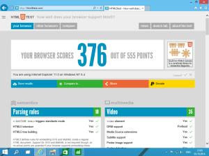 Пока в Windows 10 остался старый Internet Explorer 11