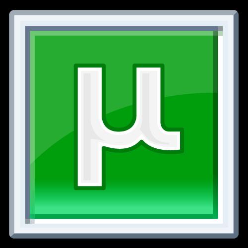 Логотип uTtorrent 1.8