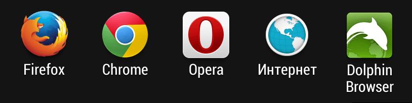 Браузеры для Android - 2014