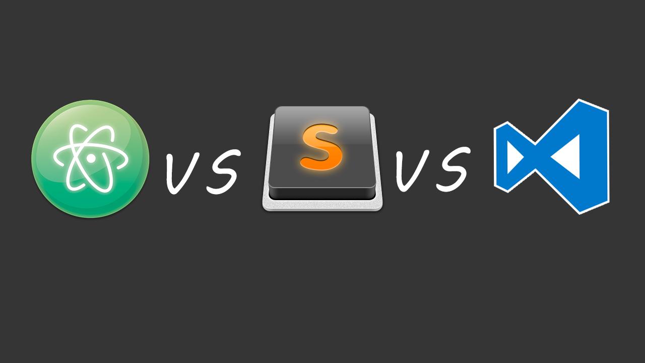 Выбираем между VS Code и Atom – Заметки по Web